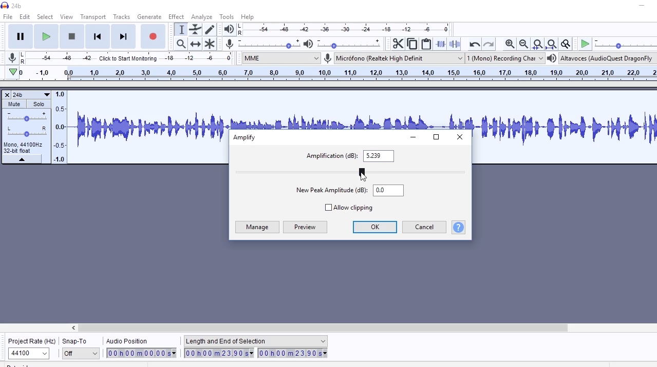 Audacity Tutorial Guide for Beginners: How to Control the Level