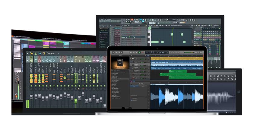 Software de edición para estudio de grabación