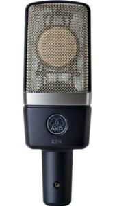 AKG C214.micrófono de condensador. condenser microphones.