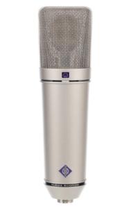 Neumann U87.micrófono de condensador. condenser microphones.