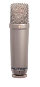 Rode NT1A.micrófono de condensador. condenser microphones.