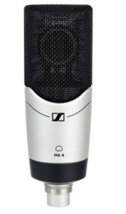 Sennheiser MK4.micrófono de condensador. condenser microphones.