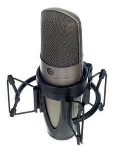 Shure KSM42 SG. micrófono de condensador. condenser microphones.